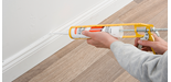 How to Fill a Gap behind a Skirting Board
