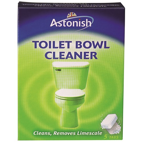 Astonish  Toilet Bowl Cleaner Tabs - 5 Pack