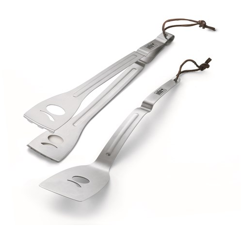 Weber  Q 2 Piece Stainless Steel BBQ Tool Set
