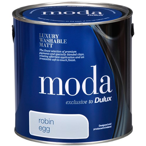 Dulux Moda Matt Colours Paint - 2.5 Litre