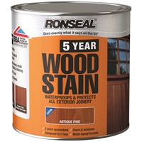 Ronseal  5 Year Woodstain - 2.5 Litre