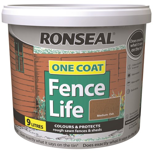 Ronseal  One Coat Fencelife - 9 Litre