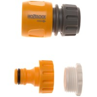 Hozelock  2175 Outdoor Tap Connector - Twin Pack