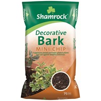 Shamrock  Decorative Bark Mini Chip - 75 Litres