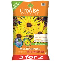 Bord na Móna Growise Multi-Purpose Compost with John Innes - 3 for 2