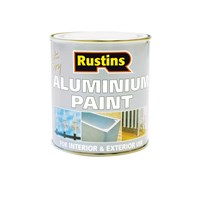 Rustins  Quick Dry Aluminium Paint - 250ml