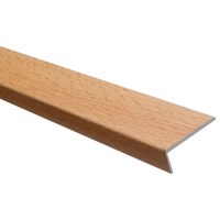 Trojan  Self Adhesive Angle Edge 25 x 8mm - Beech