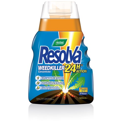 Westland Resolva 24 Hour Weed Killer Concentrate - 500ml