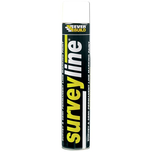 Everbuild  Surveyline Paint 700ml - White