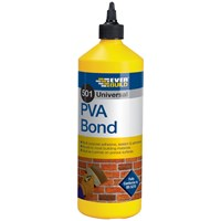 Everbuild  501 PVA Bond - 1 Litre