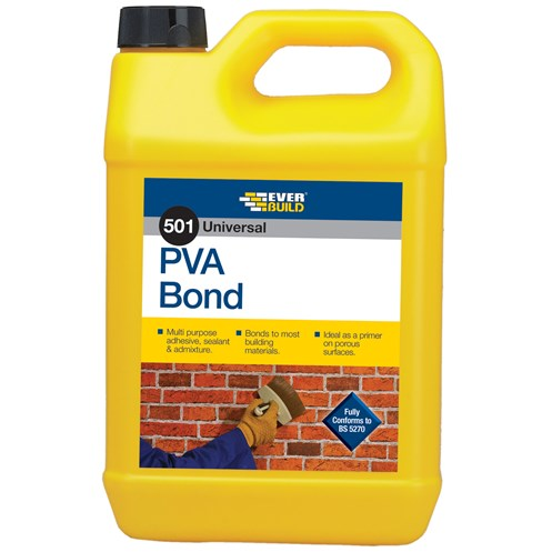 Everbuild  501 PVA Bond - 2.5 Litre