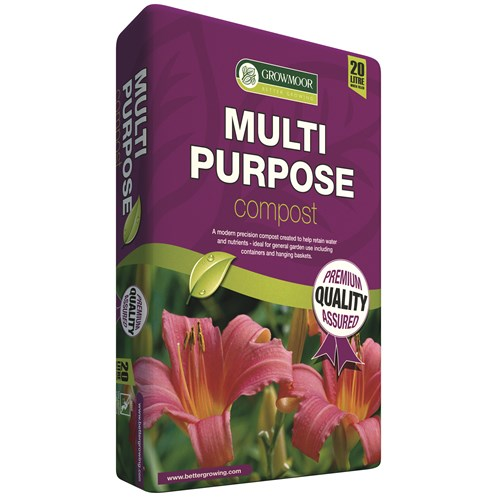 Growmoor  Multi Purpose Compost - 20 Litre