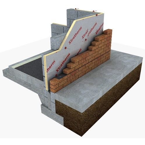 Xtratherm  Cavity Wall T&G Insulation - 1200 x 450mm
