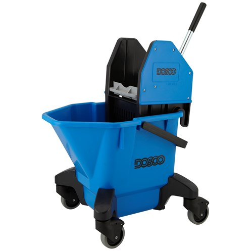 Dosco  Kentucky Mop Bucket With Wringer Blue - 25 Litre