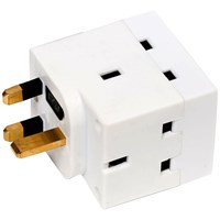 Phoenix  3 Way Adapter - 13 Amp