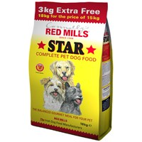 Connolly's Red Mills  Star Dog Food - 15kg + 3kg EXTRA FREE