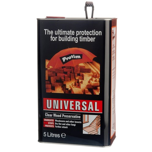 Protim  Clear Universal Wood Preservative - 5 Litre