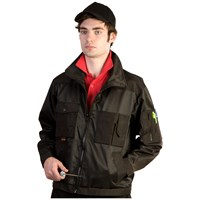 Bodyworks  Beaver Lined Jacket - Black