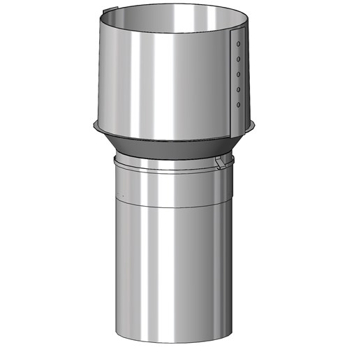 Mi-Flues  Internal Clay Flue Adaptor