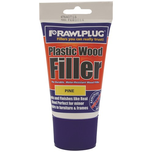 Rawlplug  Plastic Wood Filler Pine - 100ml