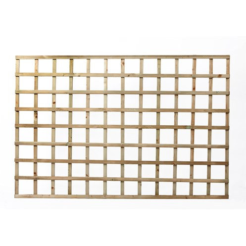 Independent Fencing  Heavy Square Lattice Trellis Panel - 1200 x 1800mm