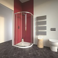 Bathroom Studio  City Plus Single Door Offset Quadrant