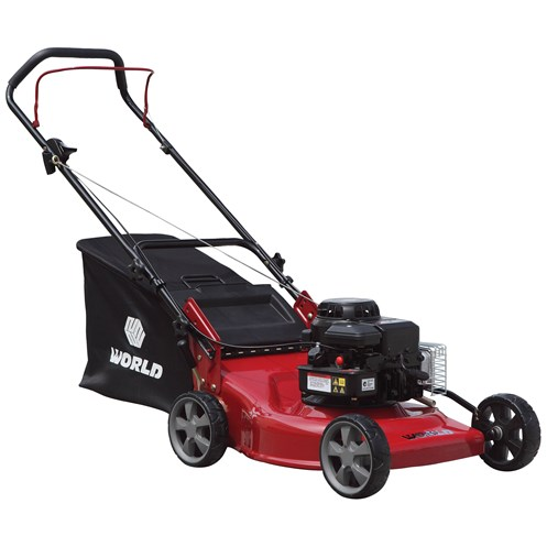 World  WYZ18 Self Drive Lawnmower - 18in
