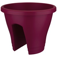 Elho Corsica 30cm Flower Bridge Pot - Cherry