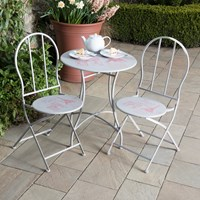 Paris Print Café 2 Seater Bistro Set