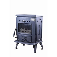 Blacksmith Anvil 6kW Non Boiler Stove - Matt Black