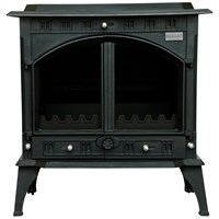 Blacksmith Farrier 23kW Boiler Stove - Matt Black